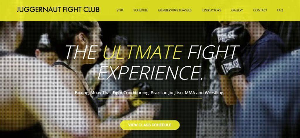 Juggernaut Top Muay Thai Gyms in Singapore