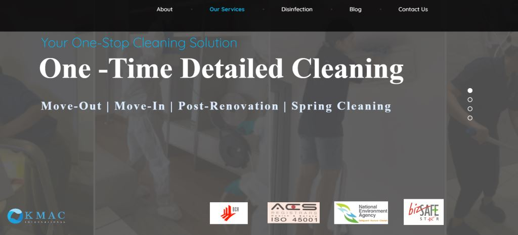 Kmac Top Cleaning Services in Singapore