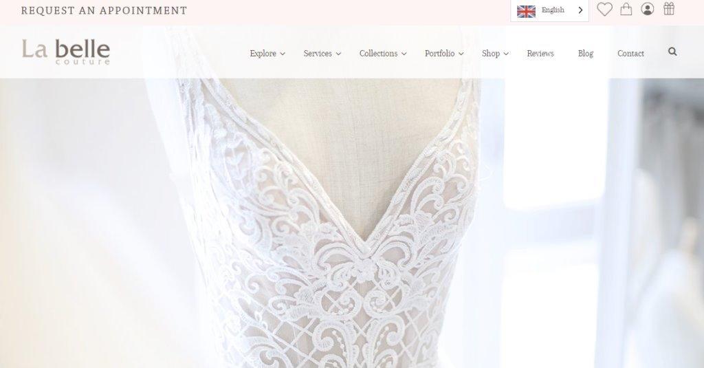 La Belle Top Wedding Dress Stores in Singapore