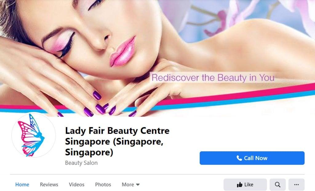 Lady Fair Top Eyebrow Threading Salons in Singapore