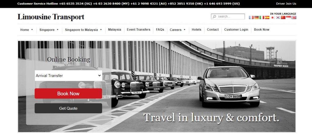 Limousine Transport Top Limousine Services in Singapore