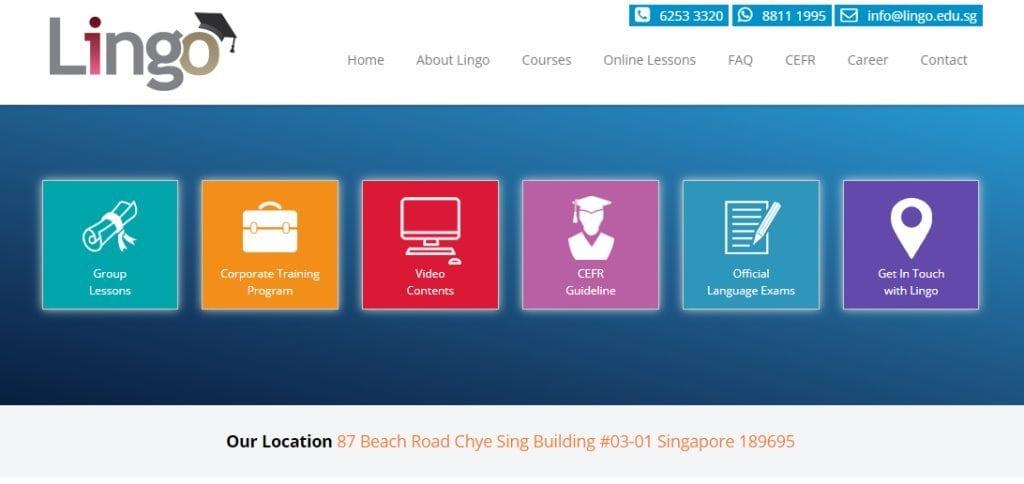 Lingo Top Korean Language Schools in Singapore