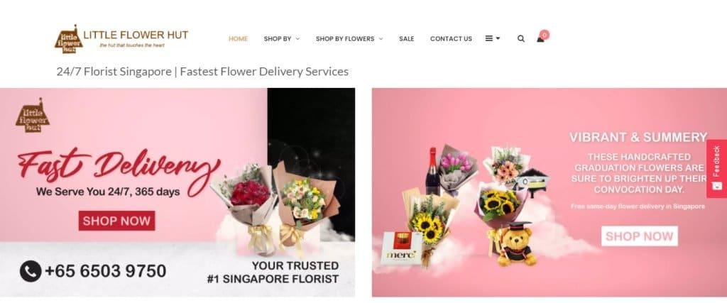 Little Flower Hut Top Flower Arrangement Classes in Singapore