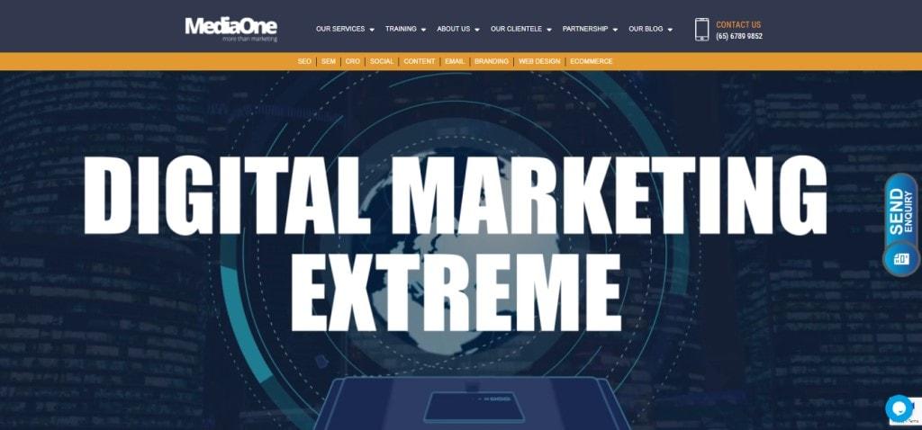 MediaOne 10 Types Digital Marketing Agencies in Singapore
