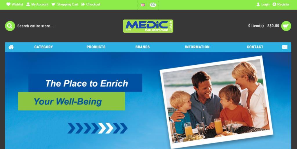 Medic Drugstore Top Pharmacists in Singapore