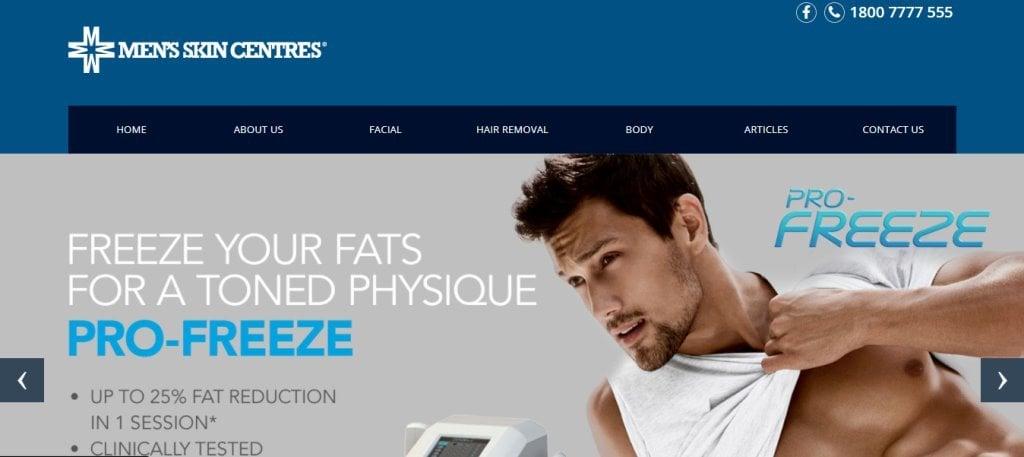 Men's Skin Centre Top Men Spas In Singapore