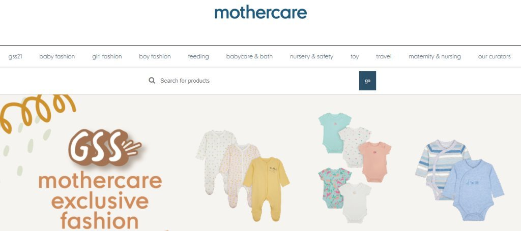 Mothercare Top Baby Stores in Singapore