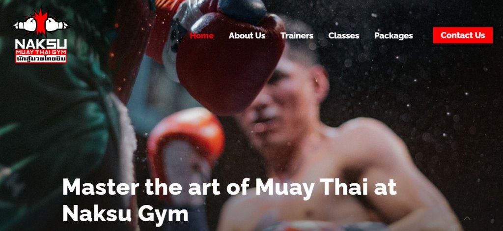 Naksu Top Muay Thai Gyms in Singapore