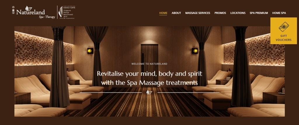 Nature Land Top Massage Spas in Singapore