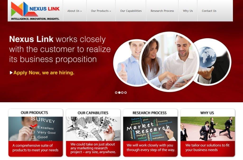 Nexus Link Top Market Research Companies in Singapore