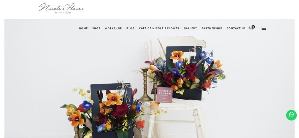 Nicole's Flower Top Flower Arrangement Classes in Singapore