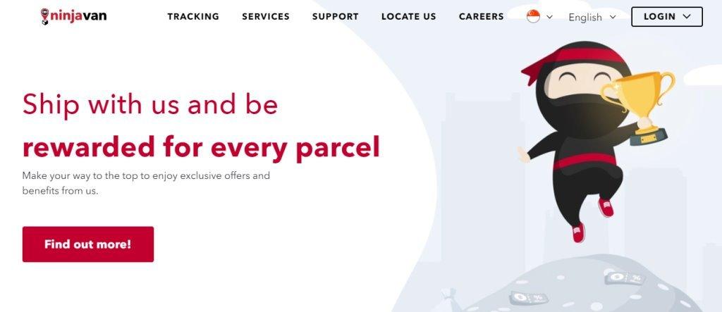 Ninja Van Top Courier Services in Singapore