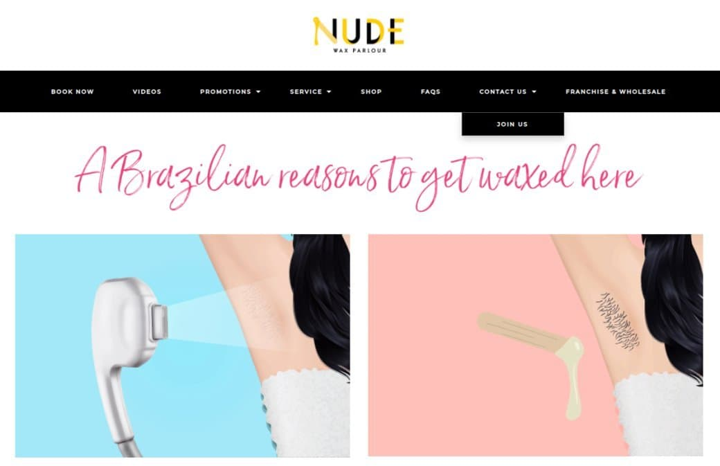 Nude Top Waxing Salons In Singapore