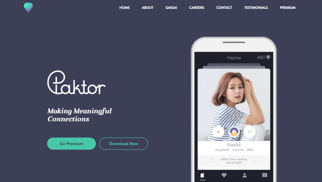 Paktor Top Dating Sites in Singapore