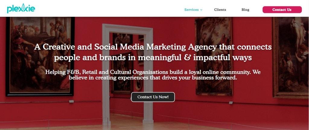 Plexxie 10 Types Digital Marketing Agencies in Singapore