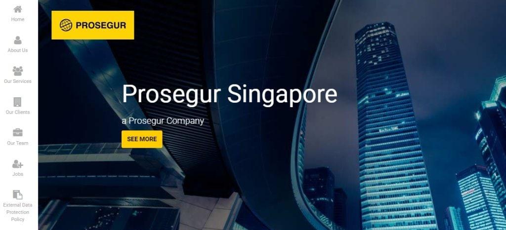Prosegur Top Security Services in Singapore