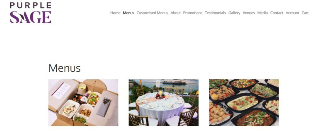 Purple Sage Top Food Caterers in Singapore