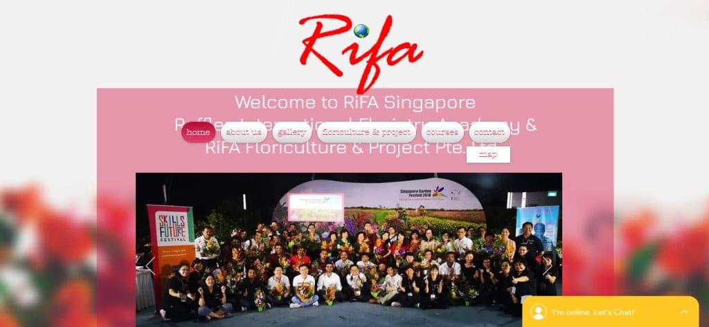 Rifa Top Flower Arrangement Classes in Singapore