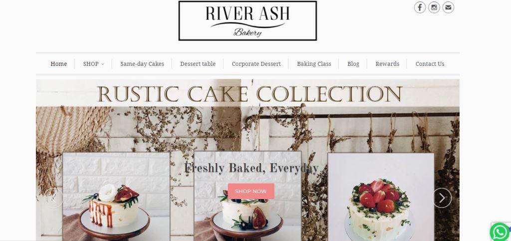 River Ash Top Baking Classes In Singapore