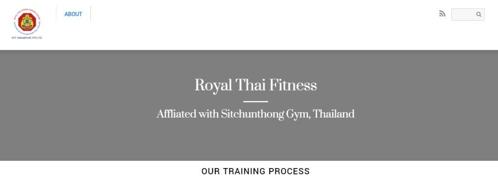 Royal Thai Top Muay Thai Gyms in Singapore