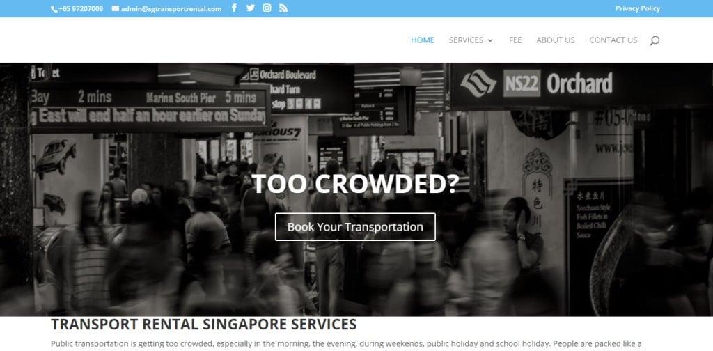 SG Transport Rental Top Bus Charter Rental in Singapore