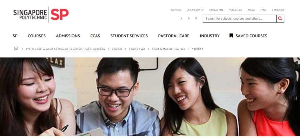 SP Edu Top Korean Language Schools in Singapore