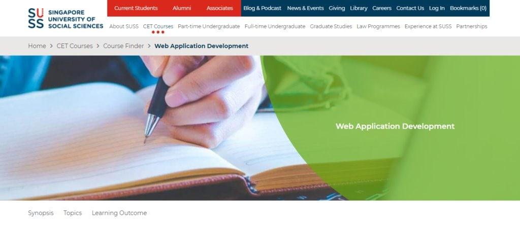 SUSS Top Web Design Courses In Singapore