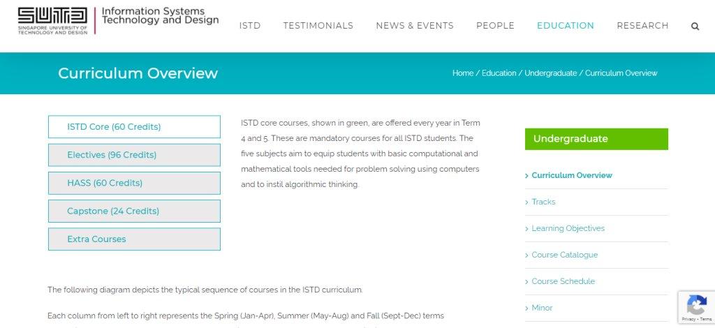 SUTD Top Web Design Courses In Singapore