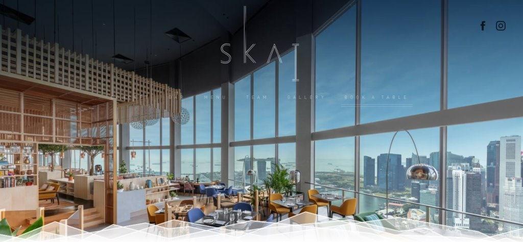 Skai Top Fine Dining Restaurants in Singapore