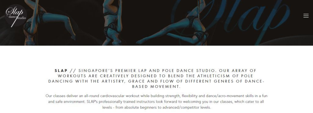 Slap Dance Studio Top Dance Studios in Singapore