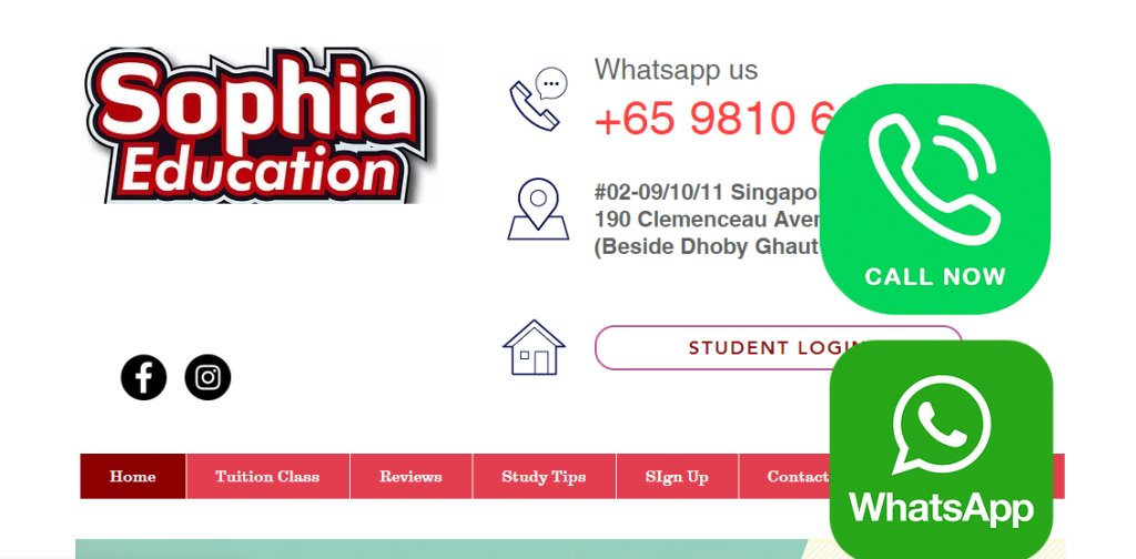 Sophia Education Top Maths Tuition Centres in Singapore