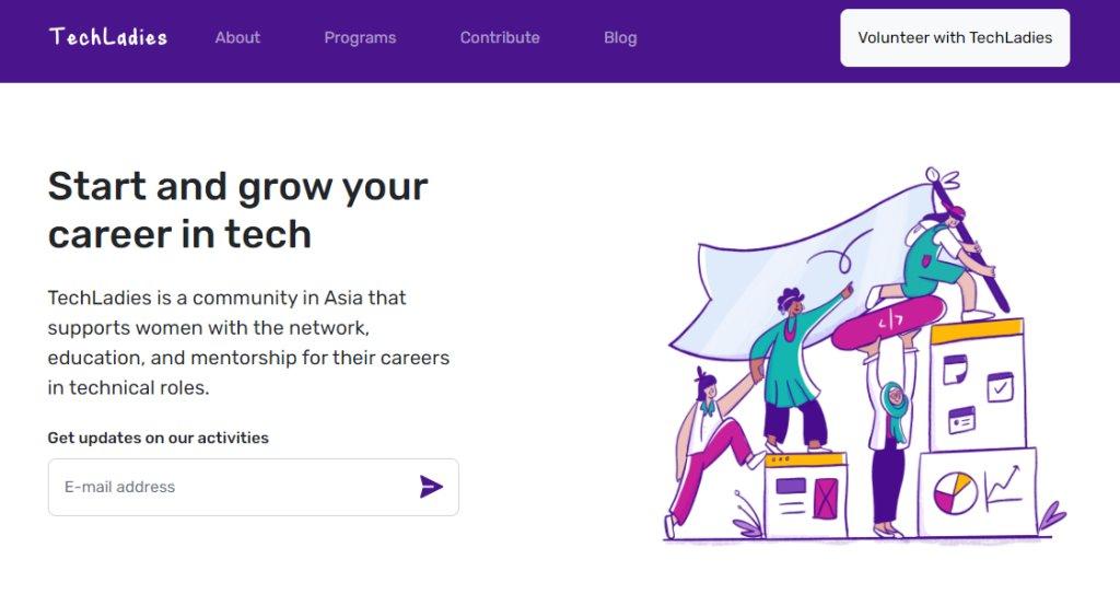 Tech Ladies Top Web Design Courses In Singapore
