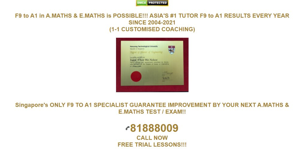 The Educationist Top Maths Tuition Centres in Singapore