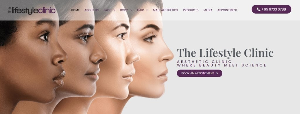 The Lifestyle Clinic Top Aesthetic Clinics in Singapore