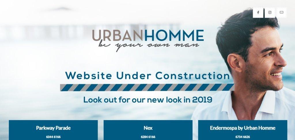 Urban Homme Top Men Spas In Singapore