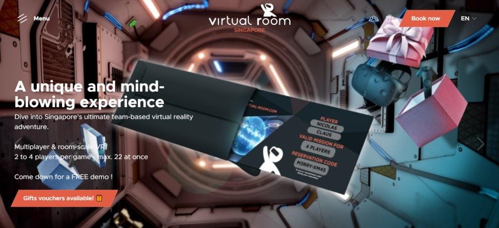Virtual Room Top Escape Rooms in Singapore