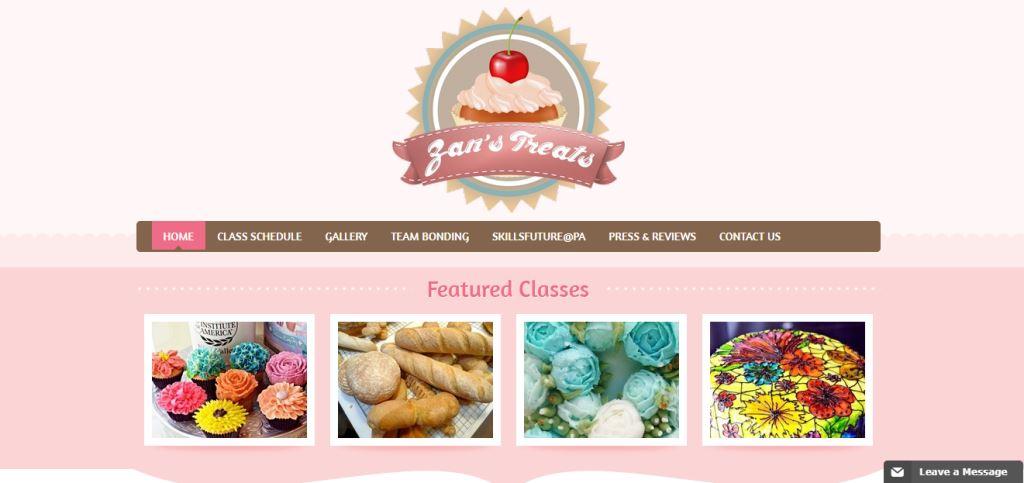 Zan's Treats Top Baking Classes In Singapore
