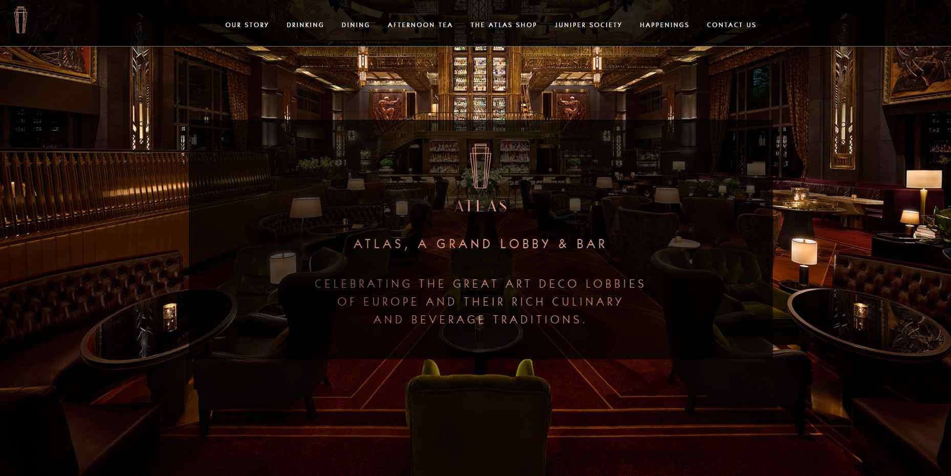 atlas bar Top Bars in Singapore