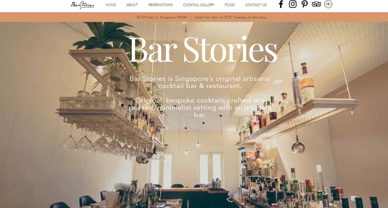bar stories Top Bars in Singapore