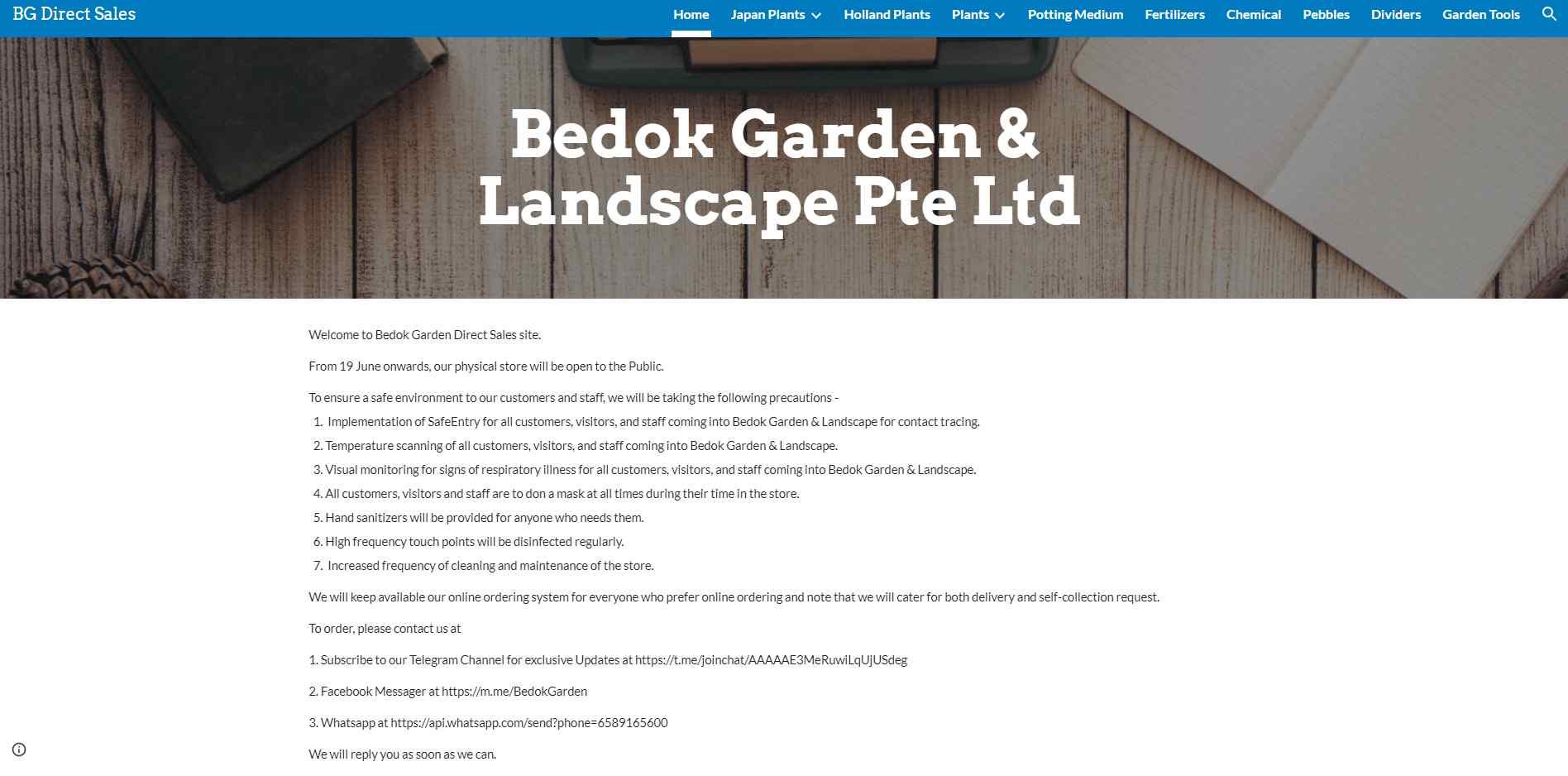 bedok garden Top Plant Nurseries in Singapore
