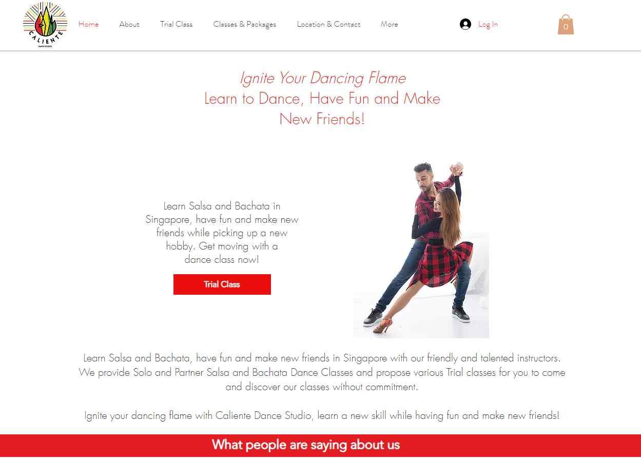 caliente Dance studios