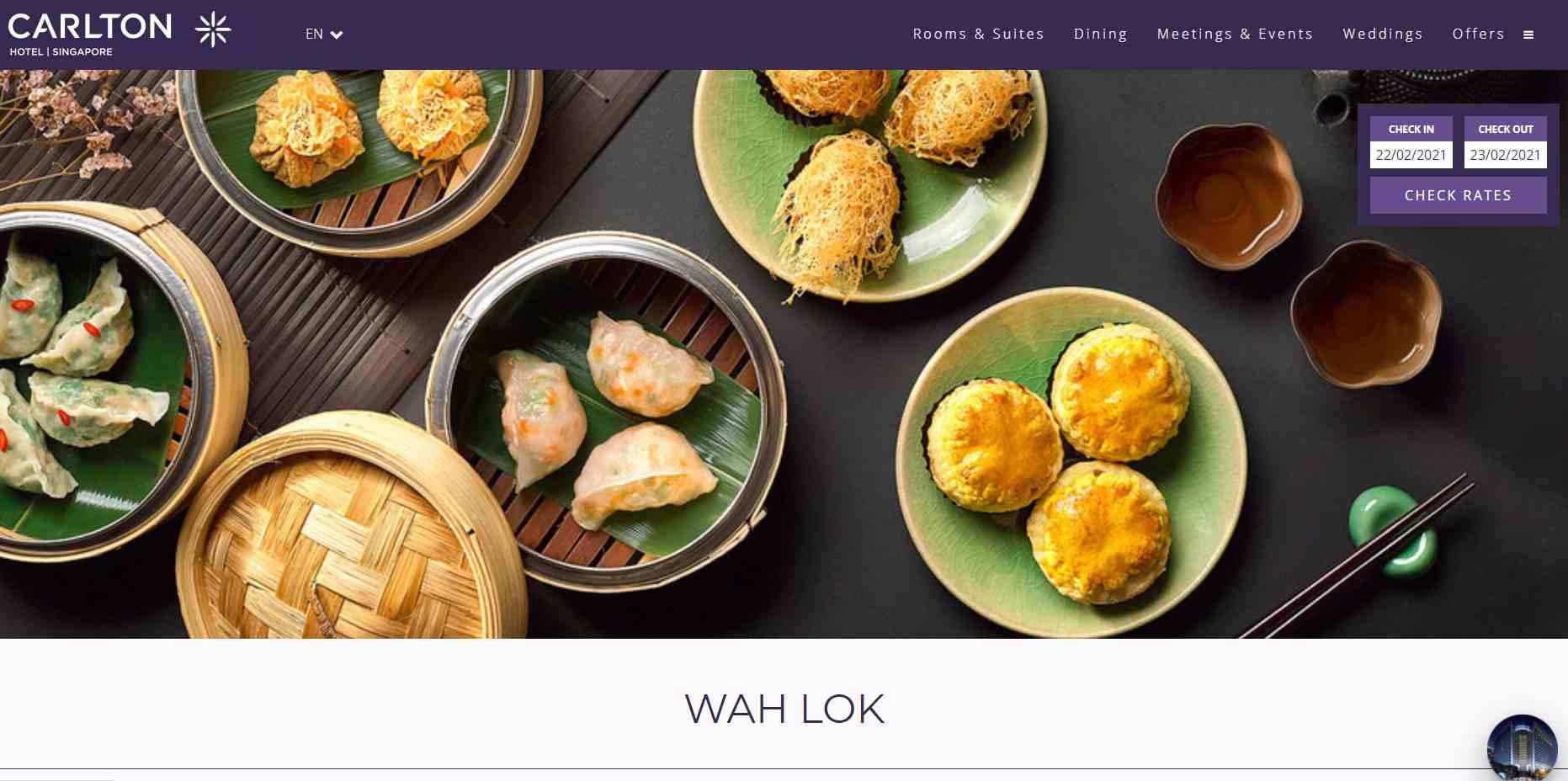 carlton Top Chinese Restaurants in Singapore