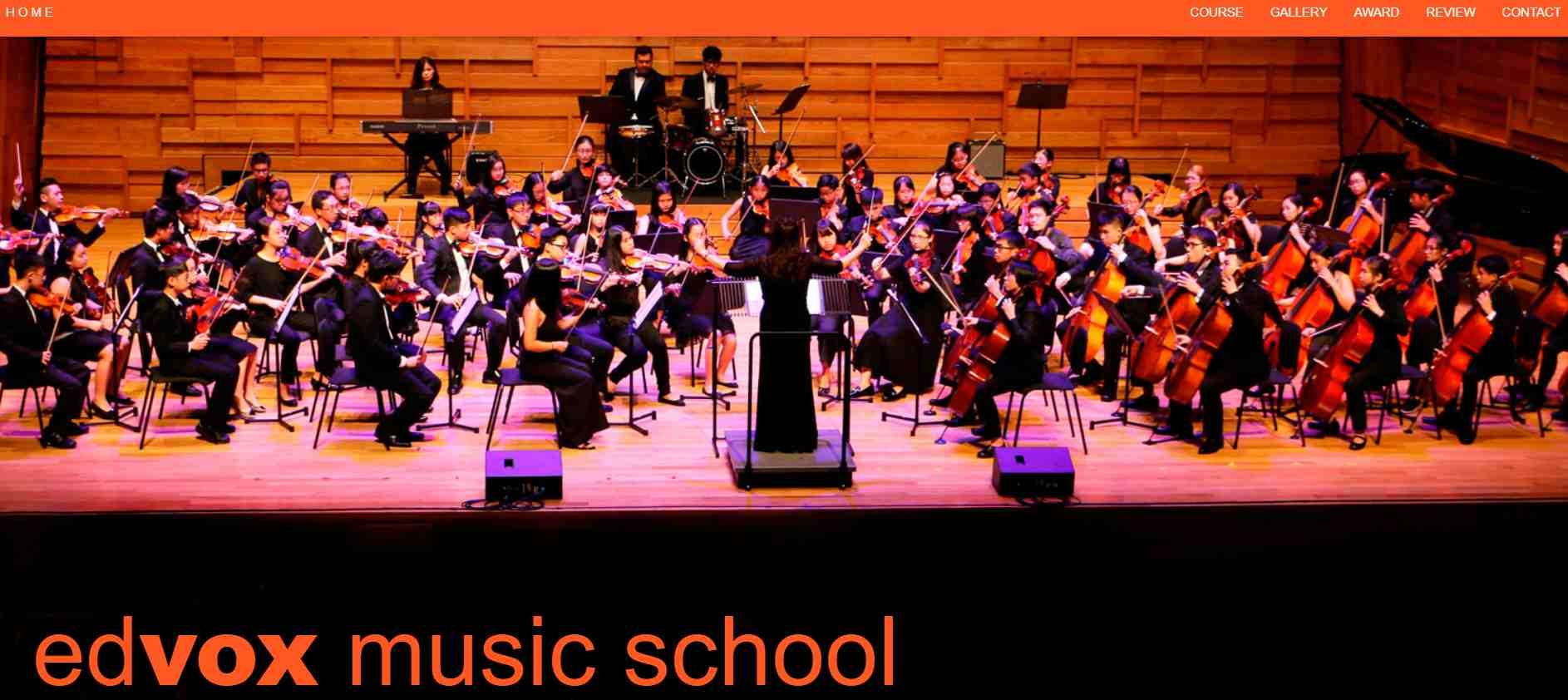 edvox Top Music Schools in Singapore