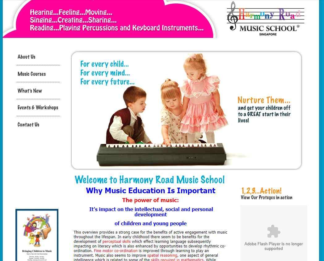 harmony road music Top Music Schools in Singapore