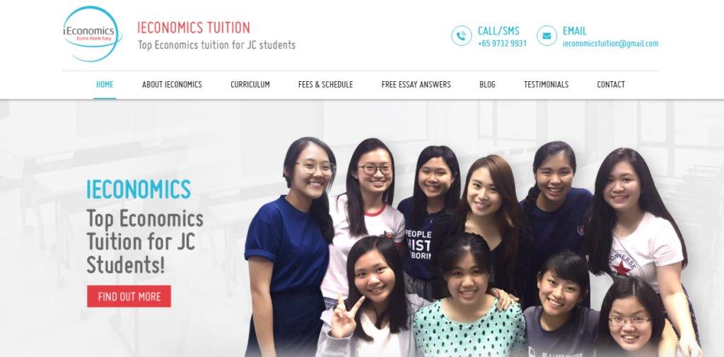 iEconomics Top Economics Tuition Agencies in Singapore