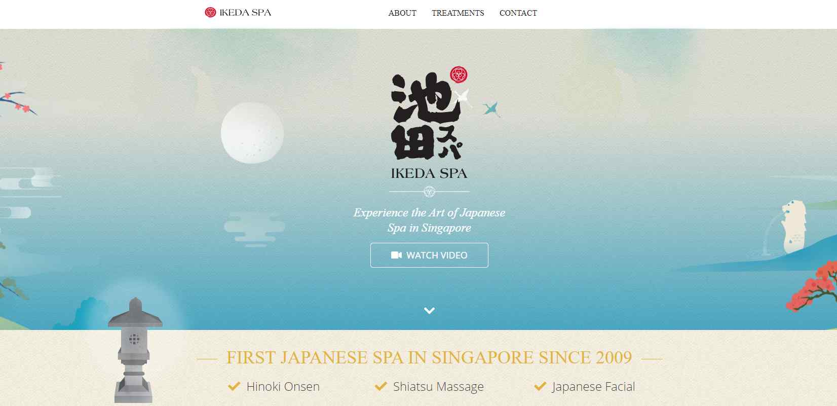 ikeda Top Couple Spas in Singapore