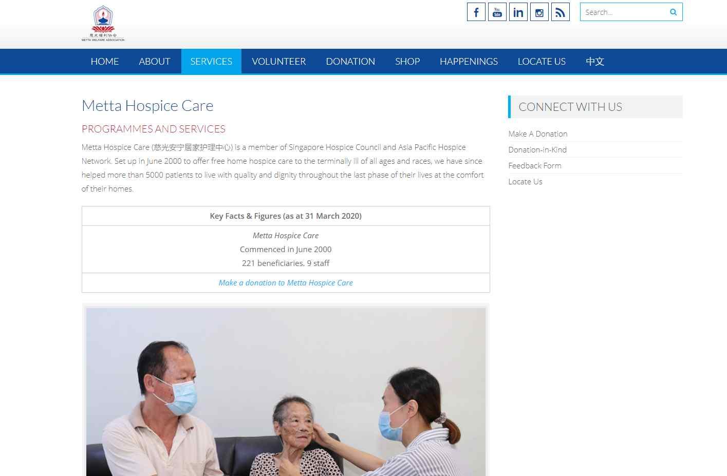 metta Top Palliative Care Services in Singapore