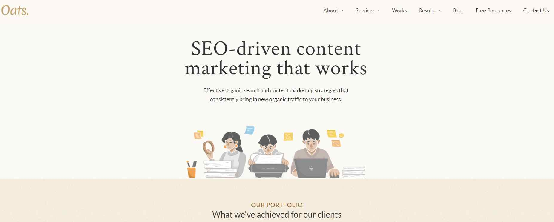 oats Website Copywriting The Complete Guide