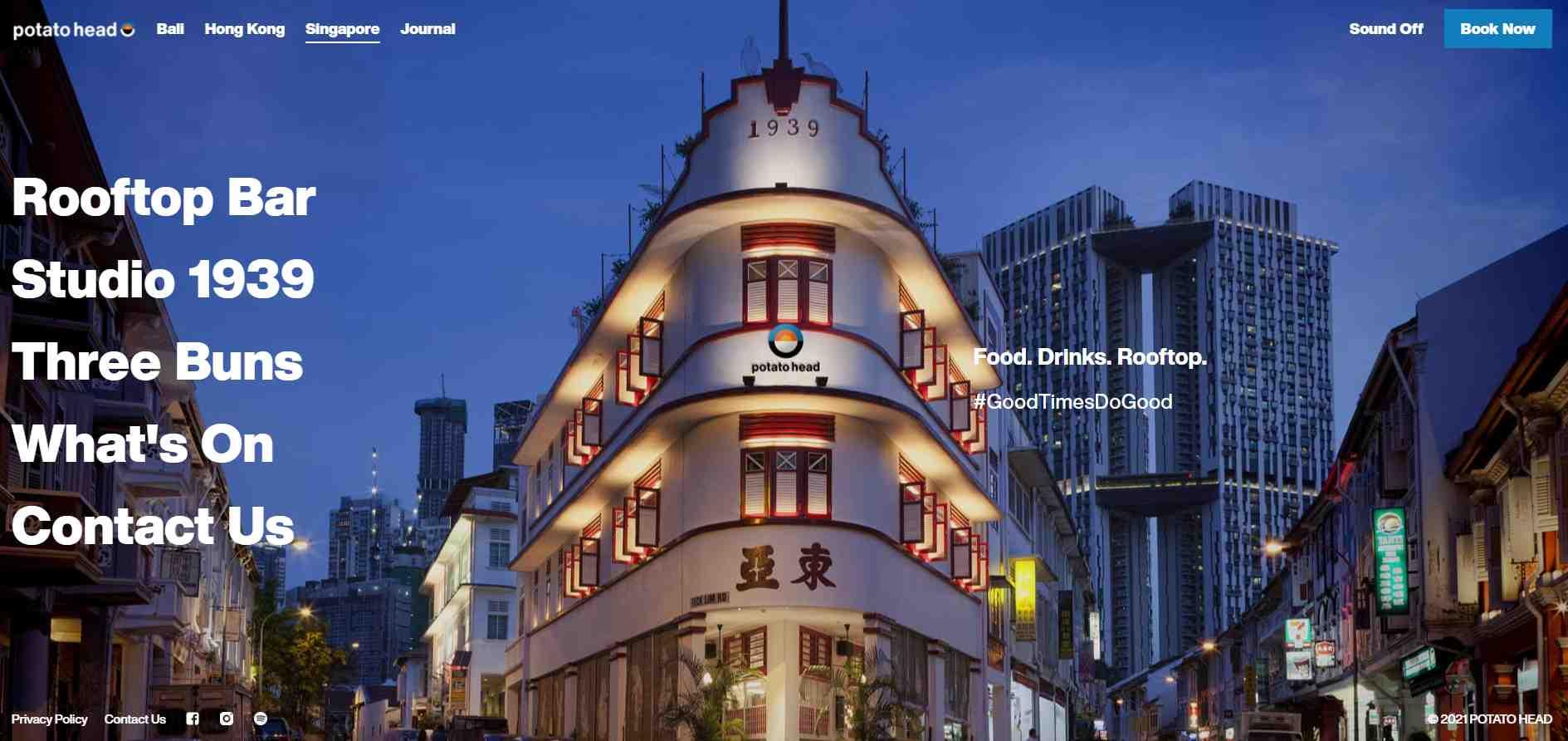 potatoe head Top Bars in Singapore