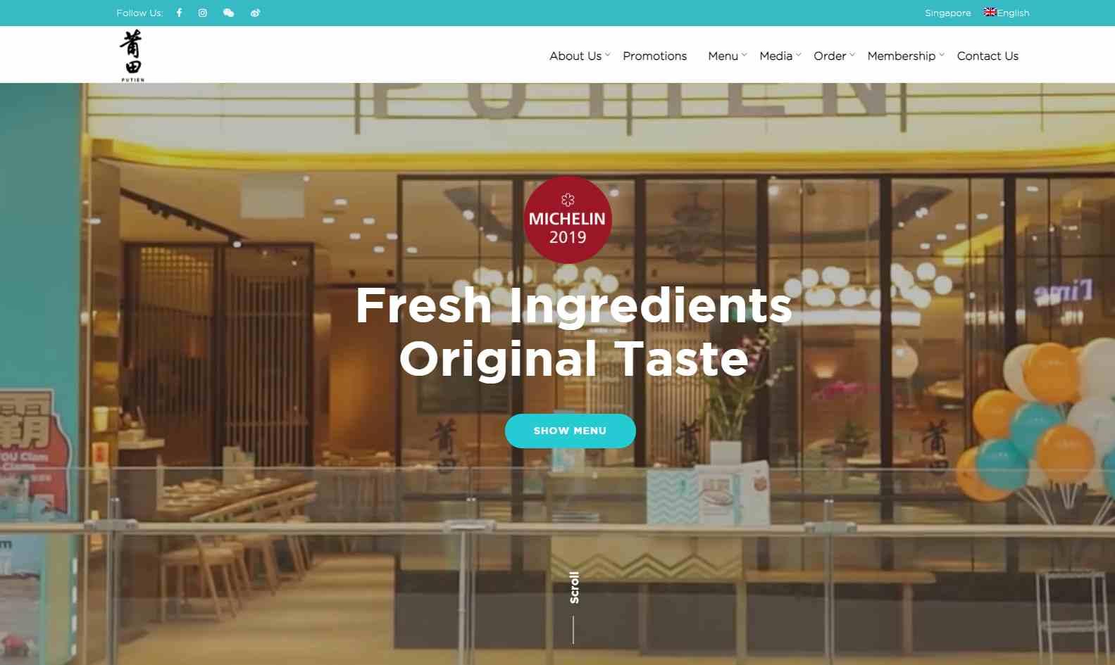 putien Top Chinese Restaurants in Singapore